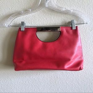 The Limited Red Hand Purse
